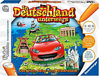 """Ravensburger tiptoi® - """"In Deutschland unterwegs"""", Lernspiel - Produktdetailbild 1"""