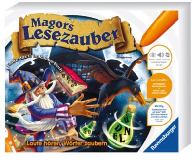 Ravensburger tiptoi® - Magors Lesezauber, Lernspiel, Kai Haferkamp