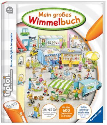 Ravensburger tiptoi® - Mein großes Wimmelbuch - Inka Friese |