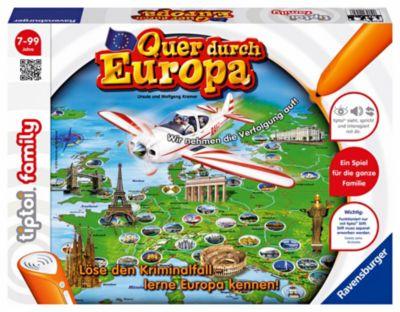 Ravensburger tiptoi® - Quer durch Europa, Kinderspiel