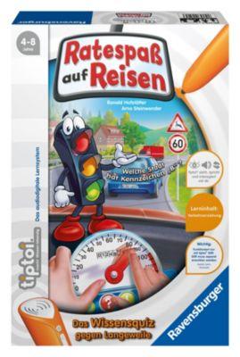 Ravensburger tiptoi® - Ratespaß auf Reisen, Kinderspiel