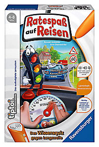 "Ravensburger tiptoi® - ""Ratespaß auf Reisen"", Kinderspiel - Produktdetailbild 1"