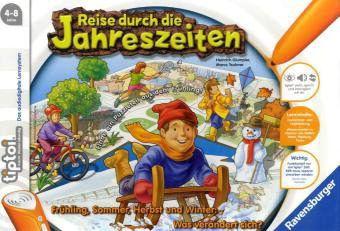 Ravensburger tiptoi® - Reise durch die Jahreszeiten, Kinderspiel, Marco Teubner, Heinrich Glumpler