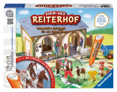 Ravensburger tiptoi® - Tier-Set Reiterhof