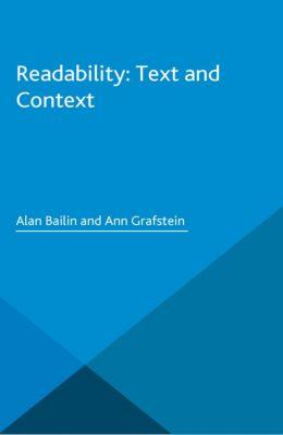 Readability: Text and Context, Alan Bailin, Ann Grafstein
