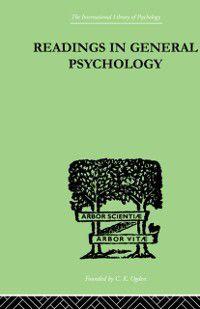 Readings In General Psychology, Paul & Iliffe, Alan Halmos