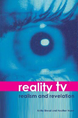 Reality TV, Anita Biressi, Heather Nunn