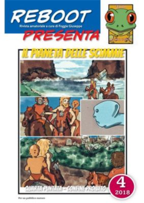 Reboot presenta : IL PIANETA DELLE SCIMMIE 4, Foggia Giuseppe
