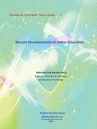 Recent Developments of Online Education, Mohamed Ziad Hamdan