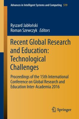 Recent Global Research and Education: Technological Challenges