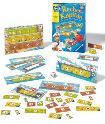 Rechen-Kapitän (Kinderspiel), Reiner Knizia
