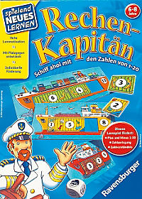 Rechen-Kapitän (Kinderspiel) - Produktdetailbild 1