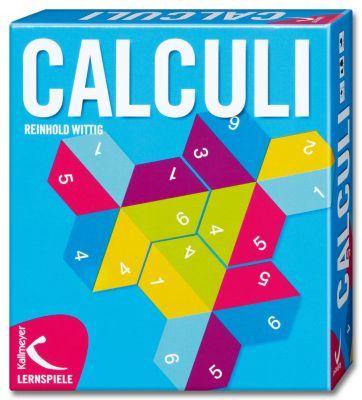 Rechenspiel Calculi, Lernspiel, Reinhold Wittig