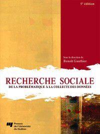 Recherche sociale, 5e édition