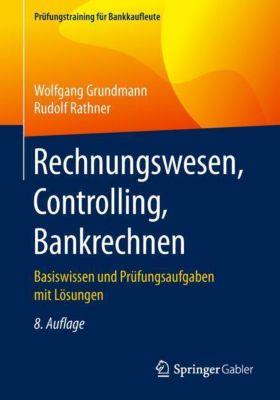 Rechnungswesen, Controlling, Bankrechnen -  pdf epub