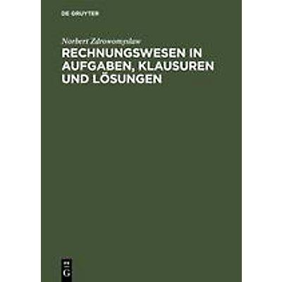 Rechnungswesen In Aufgaben Klausuren Und Lösungen Buch Portofrei
