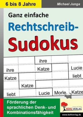 Rechtschreib-Sudokus, Michael Junga