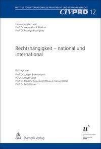 Rechtshängigkeit - national und international