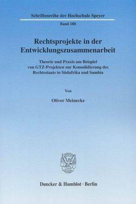 Rechtsprojekte in der Entwicklungszusammenarbeit., Oliver Meinecke