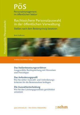 Rechtssichere Personalauswahl in der öffentlichen Verwaltung, Boris Hoffmann
