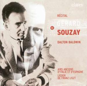 Recital, Gerard Souzay