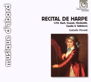 Recital de Harpe, Isabel Moretti