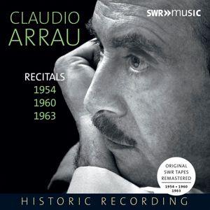 Recitals 1954,1960,1963, Claudio Arrau