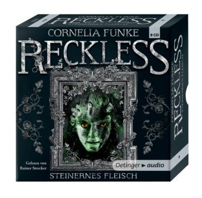 Reckless Band 1: Steinernes Fleisch (8 Audio-CDs), Cornelia Funke
