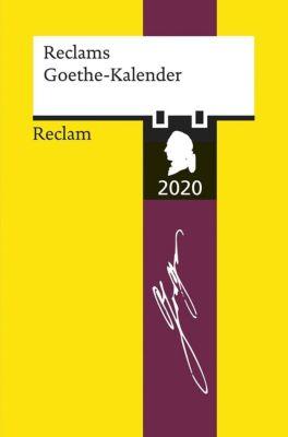 Reclams Goethe-Kalender 2020