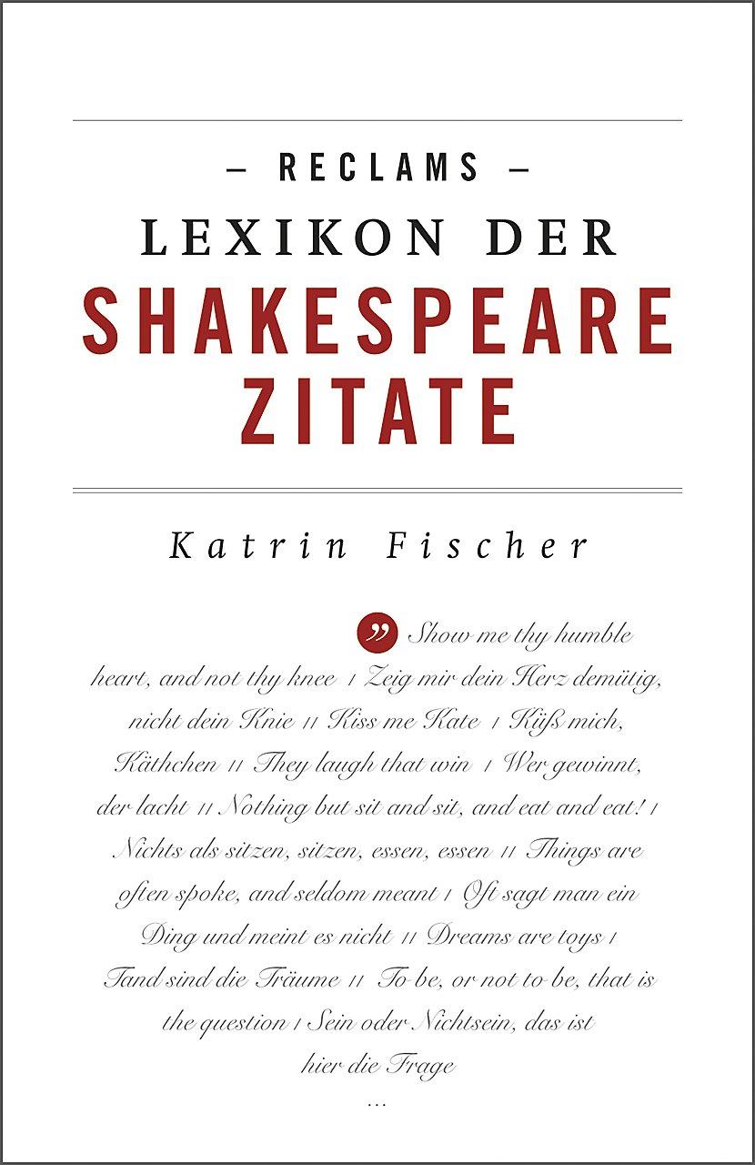 Reclams Lexikon Der Shakespeare Zitate Buch