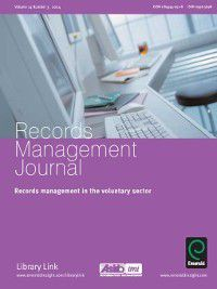 Records Management Journal: Records Management Journal, Volume 14, Issue 3