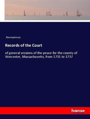 Records of the Court, Anonymous
