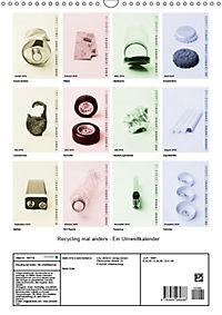 Recycling mal anders - Ein Umweltkalender (Wandkalender 2019 DIN A3 hoch) - Produktdetailbild 13