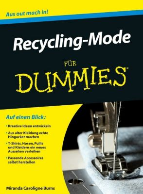 recycling mode f r dummies buch portofrei bei. Black Bedroom Furniture Sets. Home Design Ideas