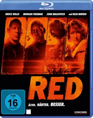 RED - Älter. Härter. Besser., Warren Ellis, Cully Hamner, Erich Hoeber, Jon Hoeber