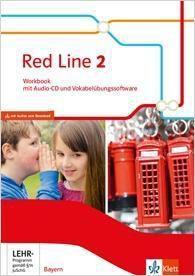 Red Line, Ausgabe Bayern 2017: Bd.2 6. Klasse, Workbook mit Audio-CD und Vokabelübungssoftware