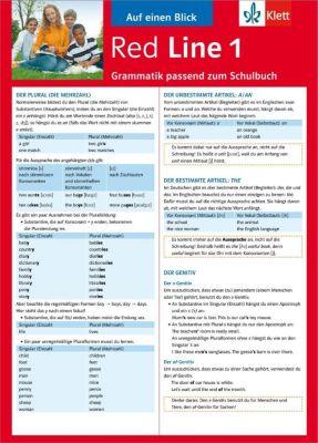Red Line: Bd.1 Auf einen Blick: Grammatik passend zum Schulbuch - Sabine Schlimm |