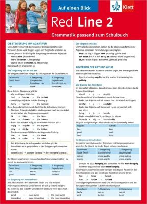 Red Line: Bd.2 Auf einen Blick: Grammatik passend zum Schulbuch - Sabine Schlimm |