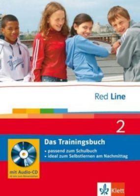 Red Line: Bd.2 Klasse 6, Das Trainingsbuch m. Audio-CD