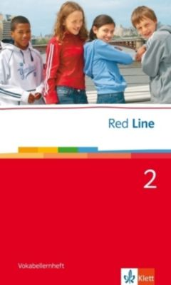 Red Line: Bd.2 Klasse 6, Vokabellernheft