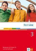 Red Line: Bd.3 Klasse 7, Workbook m. Audio-CD u. CD-ROM