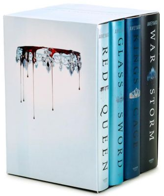 Red Queen 4-Book Hardcover Box Set, Victoria Aveyard