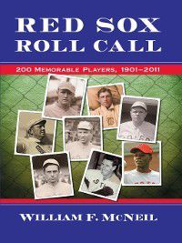 Red Sox Roll Call, William F. McNeil