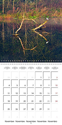Reflections on the River Weaver (Wall Calendar 2019 300 × 300 mm Square) - Produktdetailbild 11