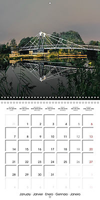 Reflections on the River Weaver (Wall Calendar 2019 300 × 300 mm Square) - Produktdetailbild 1