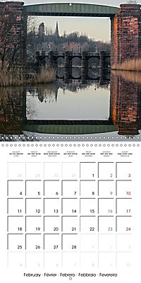 Reflections on the River Weaver (Wall Calendar 2019 300 × 300 mm Square) - Produktdetailbild 2