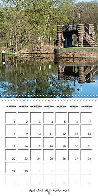 Reflections on the River Weaver (Wall Calendar 2019 300 × 300 mm Square) - Produktdetailbild 4