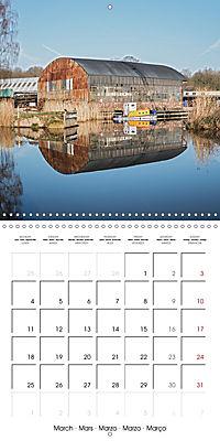 Reflections on the River Weaver (Wall Calendar 2019 300 × 300 mm Square) - Produktdetailbild 3