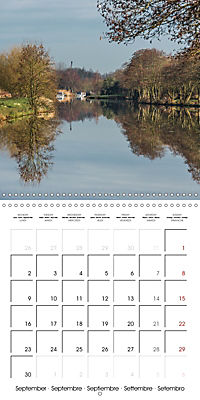 Reflections on the River Weaver (Wall Calendar 2019 300 × 300 mm Square) - Produktdetailbild 9