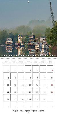 Reflections on the River Weaver (Wall Calendar 2019 300 × 300 mm Square) - Produktdetailbild 8